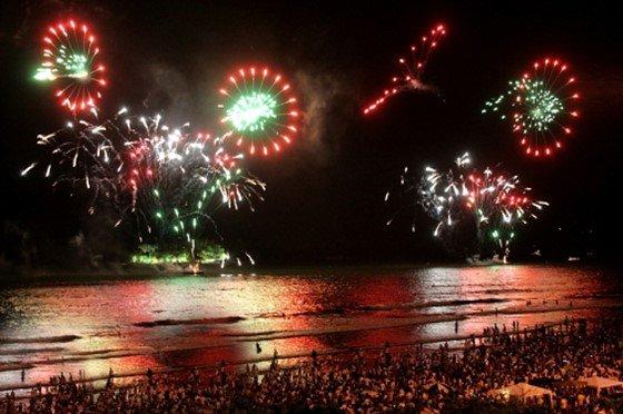 festa Reveillon Balneario Camboriu 2018